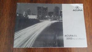 Manual for 2002 Acura EL 1.7