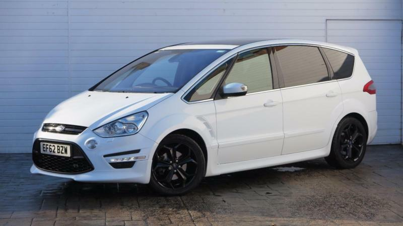 2012 Ford S-Max 2012 62 Ford S Max 2.2 TDCI Titanium X Sport Diesel white Automa
