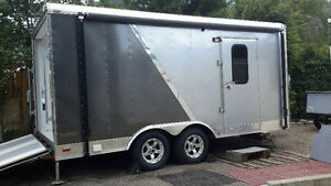 8.5'' X 16 Custom Cargo trailer, Extra height, Extended hitch
