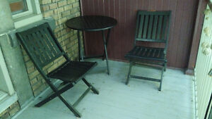Patio Set - Table and 2 Chairs