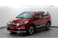 2018 Honda CR-V 2.0 i-VTEC EX Petrol red Automatic