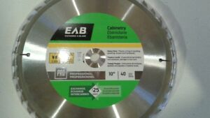 **NEW** EAB 10 IN CABINETRY SAW BLADE.