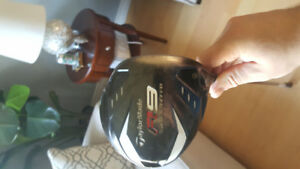 taylormade driver, 3 wood,  hybrid 3 and 4