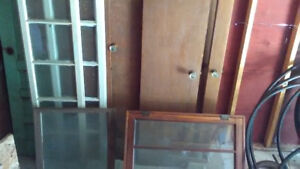 Antique doors and windows for sale