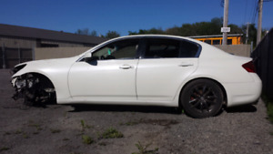 Infiniti G35X pour pieces - for parts
