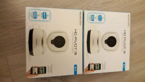 HD Pivot 720 Security Wireless Camera x2