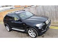 BMW X5 3.0 30sd SE 5dr 7 SEATER PANORAMIC ROOF TWIN TURBO 2008 58 REG ONLY 96K