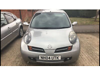 Nissan micra ready to go good condition!!! Low mileage