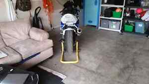 2005 suzuki gsxr 600 (blue&white) 26123km Cambridge Kitchener Area image 3
