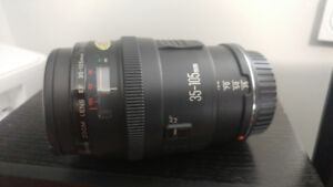 Canon EF 35 - 150 mm lens