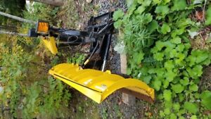 fisher used plow  7 1/2 foot min mount
