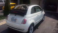 2012 Fiat 500c Convertible Lounge Fully Loaded Special Order