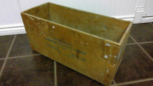 1950s or earlier CIL dynomite wooden crate