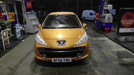Peugeot 207 1.4 16v 90 Sport 5 door hatchback