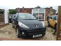 2011 Peugeot 207 1.4HDi 5 door hatch VERY LOW miles ONLY 17K FORM NEW