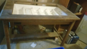 Drafting Table with Lightbox