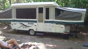 Pop up 12 foot camper trailer