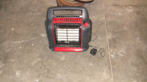 Mr. Heater Big Buddy with accessories
