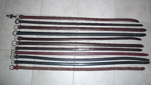 BELTS -Brand New ( all leather) Mens