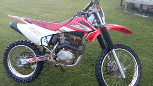 Low hour crf230f. Very good condition.
