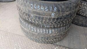 Pair of 2 Sunfull SF982 245/45R18 WINTER tires (70% tread life)
