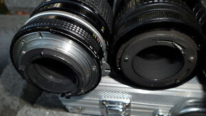 6 35mm Camera Lenses Various Mounts $60 All. Unknown mounts... Prince George British Columbia image 9