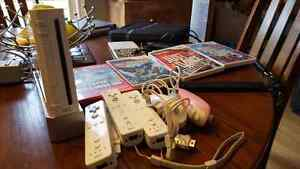 Wii with 5 games