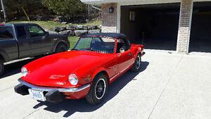 1976 triumph Spitfier 1500