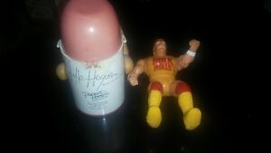 Autographed Hulk Hogan cup cooler and squirt gun figure London Ontario image 2