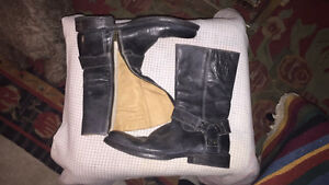 BED STU soft gorgeous leather boots 8.5 handmade