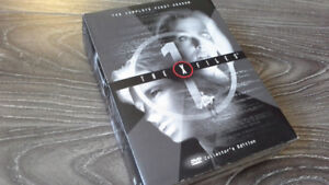 THE X-FILES SEASON 1 VERY RARE DVD COLLECTOR SET