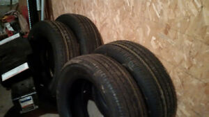 New M&S tires