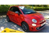 2017 Fiat 500 1.2 S with Bluetooth Air Con Manual Petrol Hatchback