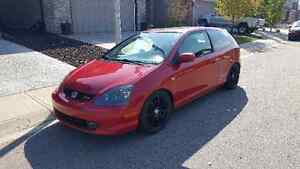 2002 Honda Civic SI-R Hatchback