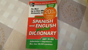 Spanish and English Pocket Dictionary