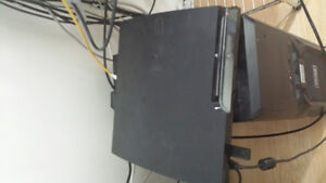 ps3 with headset, controller and a few games