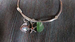 beachglass bracelet by Deb Humen