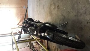 1967 BSA chopper project Cambridge Kitchener Area image 4
