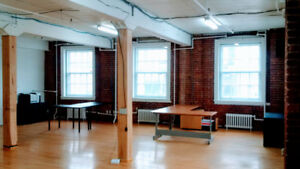 Loft Vieux-Montreal / Loft office Old Montreal 1400 sqf+ Parking