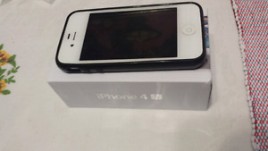 Excellent iphone 4S  ( Rogers, chatr )