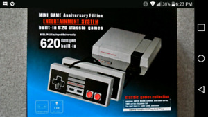 Mini Nintendo with 620 games built in