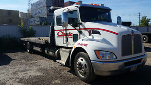 2009 KENWORTH FLATBED