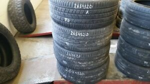 Set of 4 Continental CrossContact LX Sport 265/45R20 tires (80%