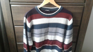 Men's wool sweater size xl