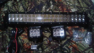 22inch curved cree led spot and flood