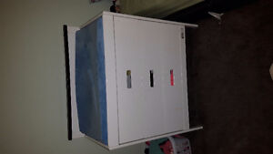 3 drawer change table with change pad