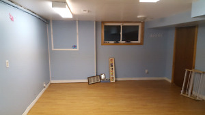 3 Bedroom basement apartment for rent