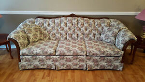French Provincial Sofa and chair - Excellent condition