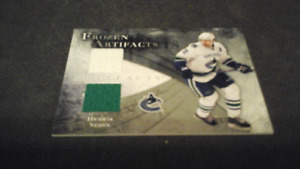 2010 / 11 Frozen Artifacts Henrik Sedin Jersey Card