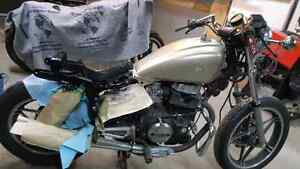 1983 honda cb450t nighthawk and papers